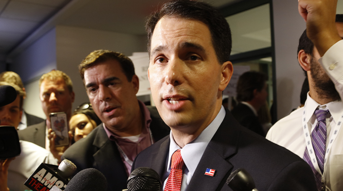 Scott Walker Gives Bad News to Welfare Abusers
